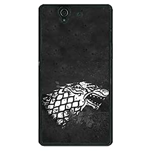 Jugaaduu Game Of Thrones GOT House Stark Back Cover Case For Sony Xperia Z