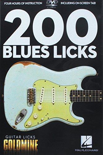 Preisvergleich Produktbild Goldmine 200 Blues Licks Gtr DVD [UK Import]