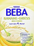 Beba Nestlé Milchbrei Banane Grieß, 9er Pack (9 x 250 g)