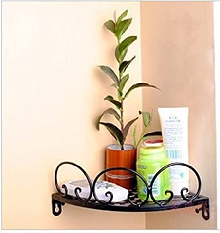 European-style wrought iron Towel rack/ Tooth cup holder/ toothbrush shelf / glove corner brackets-A