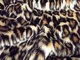 Minicraft bebé Leopardo Fun Fur, marrón/Beige, 75x 50cm