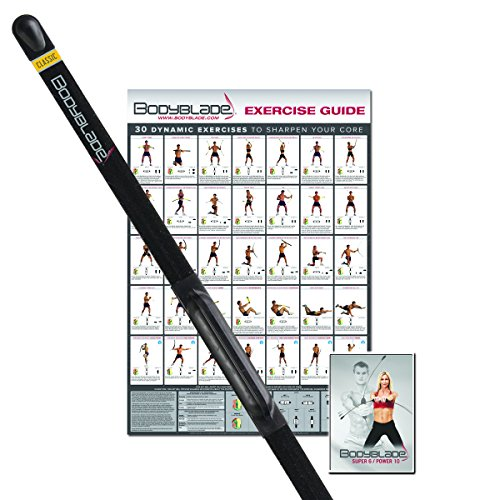 Bodyblade® Exerciser  Classic Kit, Black, 122 cm, BBKIT0400-01R1 -