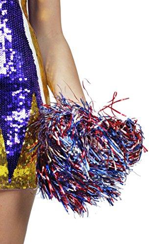 - Blaue Und Rote Cheerleader Kostüm