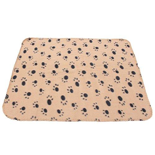 katzeninfo24.de FOCUSPET Haustierdecke Fleece Decke Hundedecke Tierdecke Katzen Heimtierdecke 60x70cm