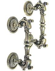 Casa Décor Metal Dragon Fire Antique Decorative Cast Iron Large Door Handles (Bronze) - Set of 2