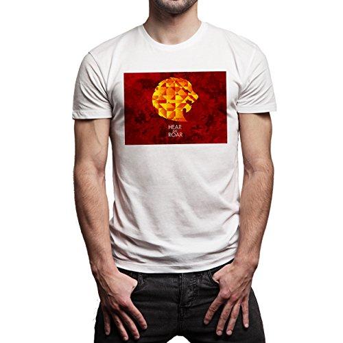 Game Of Thrones Hear Me Lannister Background Herren T-Shirt Weiß