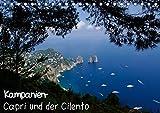 Kampanien ? Capri und der Cilento (Tischkalender 2019 DIN A5 quer): Beeindruckende Fotografien von der Insel Capri und dem Biosphärenreservat des Cilento (Monatskalender, 14 Seiten ) (CALVENDO Natur) - CALVENDO