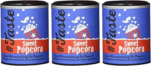 Taste Sweet Popcorn – Süße Würzmischung mit Zucker, Zimt und Kardamom (3 x 96g) - 2