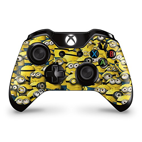 Price comparison product image GNG 2 x Minions Xbox One Controller Skins Full Wrap Vinyl Sticker