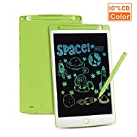 LCD Writing Tablet, Colorful Screen Digital eWriter Electronic Graphics Tablet Portable Writing Board Handwriting Doodle Drawing Pad Message Memo Board for Kids Adult Home School Office