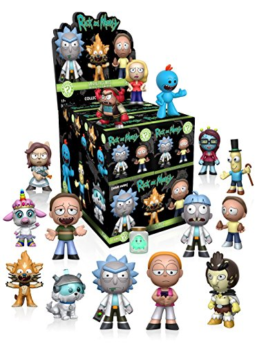 Funko - Figurine - Rick And Morty Mystery Minis - 1 boîte au hasard / one Random box - 0889698130356