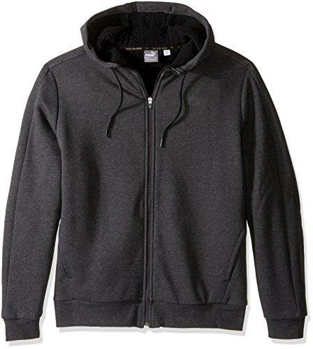 ae55361041 PUMA Men's P48 Core Sherpa Full Zip Hoodie - Comparebucks
