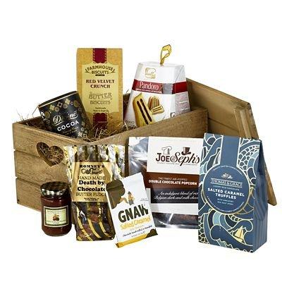 Luxury Boxed Chocoholics Heaven Christmas Gift Hamper