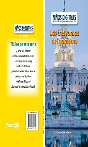 Los tres poderes del gobierno: Trabajar en equipo (The Three Branches of Government: Working as a Team): Trabajar En Equipo/ Working As a Team (Niños ... Kids: Powered by Computational Thinking)