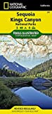 National Geographic Trails Illustrated Map Sequoia/Kings Canyon National Parks California, USA