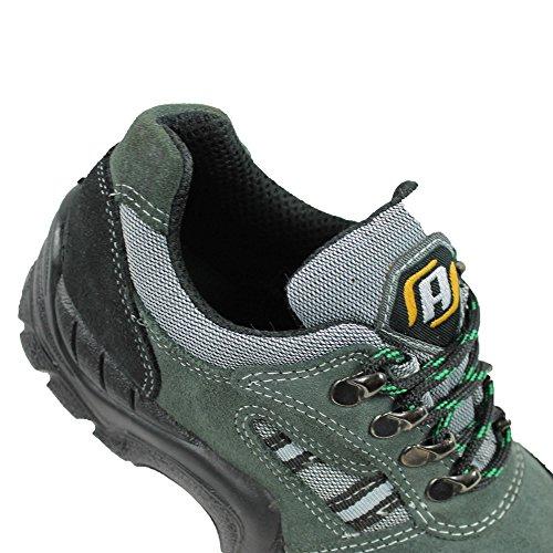 Auda s1P chaussures de sécurité acifort berufsschuhe 00823 chaussures semi-vert Vert