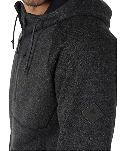 Burton Herren Bonded Full-Zip Hoodie True Black