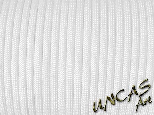 Uncas Art Original paracorde 550 Corde Type 3-30 m - Couleur Blanc