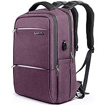 9644f64e836dc2 Inateck Zaino per Laptop da 15-15,6 Pollici Anti borseggio Anti graffio con