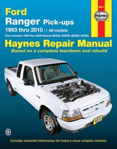 Haynes Ford Ranger Pick-Ups 1993 Thru 2010: All Models (Hayne's Automotive Repair Manual) (Ford Ranger Haynes)