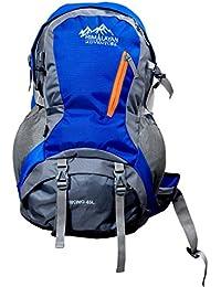 Himalayan Adventures 45 Ltrs Blue Backpack/Rucksack/Travelling Bag/Hiking Bag/Adventure Bag/Camping Bag With Rain...