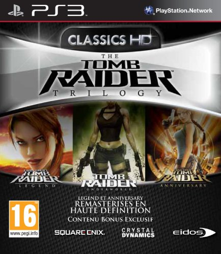 tomb raider trilogy (legend + anniversary + underworld) [edizione: francia]