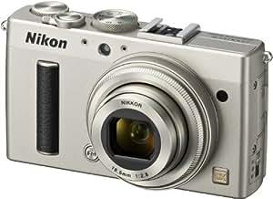 Nikon Coolpix A Digitalkamera (16 Megapixel, 7,6 cm (3 Zoll) LCD-Display, 28mm Weitwinkelobjektiv, Lichtstärke 1:2,8, Full HD Video) titan silber