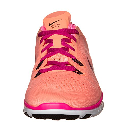 Nike - Free 5.0 Tr Fit 4, Sneaker Donna Coucher De Soleil Lueur Fireberry Rose Power Black 800