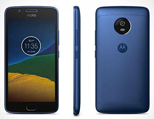 Motorola Moto G5 Smartphone, Marchio Tim, 16 GB, Blu Zaffiro [Italia]