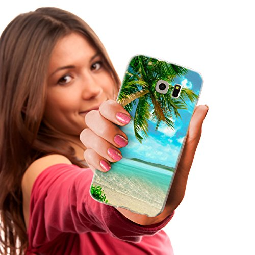 Ooh. Color® Frosted Designer Housse pour iPhone LG Microsoft Téléphones Portables Sony Xperia poche Motif Etui Case élastique Cover Print Stylish Étui souple Motif fin Flexible, Plastique, HUM052 Weed Design 12