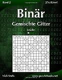 Binär Gemischte Gitter - Leicht - Band 2-276 Rätsel
