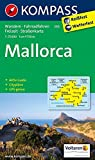 Mallorca: Wander-, Rad-, Freizeit- und Straßenkarte mit Aktiv Guide und Stadtplan Palma de Mallorca 1:8500. GPS genau. 1:75000: Wandelkaart 1:75 000 (KOMPASS-Wanderkarten, Band 230)