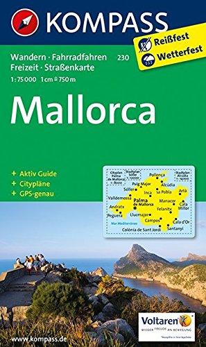 Mallorca 230 Gps Wp Kompass par Kompass-Karten