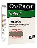 #10: OneTouch Select Test Strips - 50 Counts