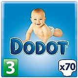 Dodot–Couches pour bébés–Taille 3, 4–10kg–66pièces