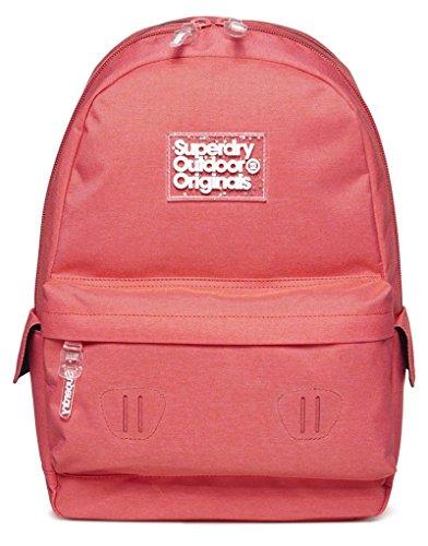 Superdry - Pixie Dust Montana, Bolsos mochila Mujer, Rosa (Fizz Pink), 30.0x45.0x13.0 cm (W x H L)