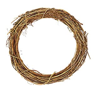 Baker Ross Rattan Wreaths Perfect For Xmas Boys And Girls