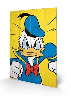 PYRAMID - Panneau en Bois Donald (Mad) Disney