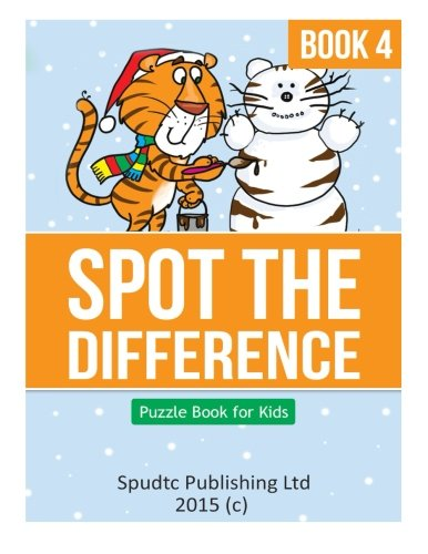 Spot the Difference Book 4: Puzzle Book for Kids