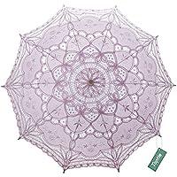 TopTie Encaje Paraguas sombrilla de Boda Novia de Accesorios de Disfraz fotografía