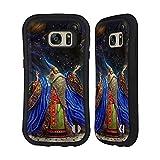 Head Case Designs Ufficiale Myles Pinkney Planetario Maghi E Spazi Cover Ibrida Compatibile con Samsung Galaxy S7