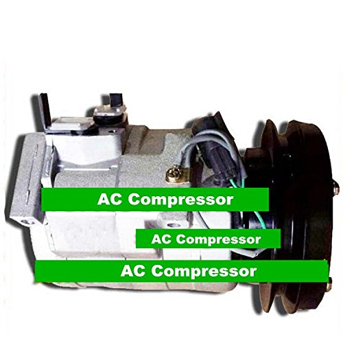 Gowe AC Kompressor für Denso 10s15C AC Kompressor mit Kupplung für Auto Komatsu Bagger, 14x 7320-26151B R134A - Ac Kupplung Mit Kompressor