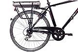 CHRISSON 28″ Zoll CITYRAD ALU Fahrrad E-Bike PEDELEC E-Gent mit 7G Shimano Schwarz 53cm- 71,1 cm (28 Zoll) - 4