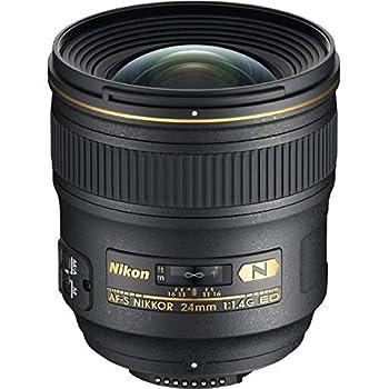 Nikon AF-S FX NIKKOR 24 mm f/1.4G ED Lente de Gran Angular para ...
