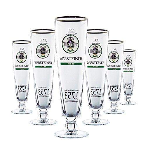6-x-warsteiner-verre-verres-03-l-herb-verre-a-biere-gastro-bar-decoration