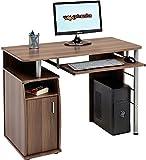 Genuine Piranha Elver Computer Desk with Cupboard & Retractable Keyboard Shelf PC1w