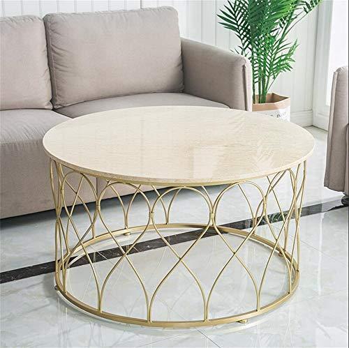 Tavolini bassi,tavolini da caffè,tavolini da divano,moderno e minimalista mini fashion in marmo bianco tavolini sovrapponibili (dimensioni : 100 * 50cm)