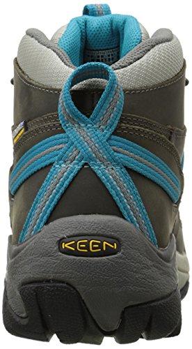 Keen Targhee Ii Mid Wp, Chaussures de Randonnée Hautes Femme Marron (Gargoyle/Caribbean Sea)