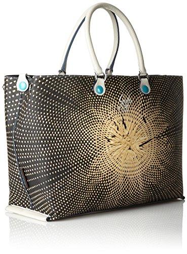 d2289ce735c951 GABS Tania Tg M - Shopping Studio Print + Vela, Borsa Donna