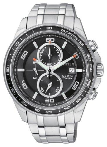 Citizen supertitanio crono eco drive ca0340-55e - orologio da polso uomo